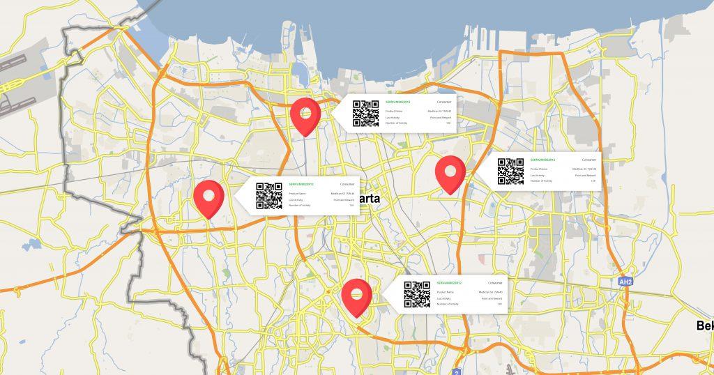map of jakarta advotics