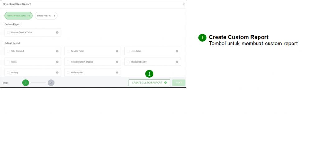 RN create custom report