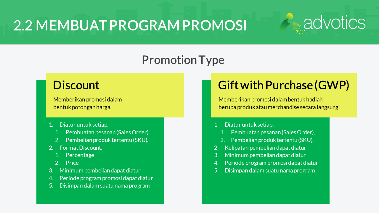 RN membuat program promosi