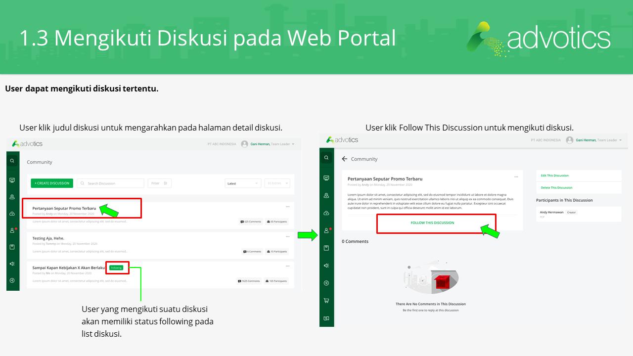 RN diskusi web portal
