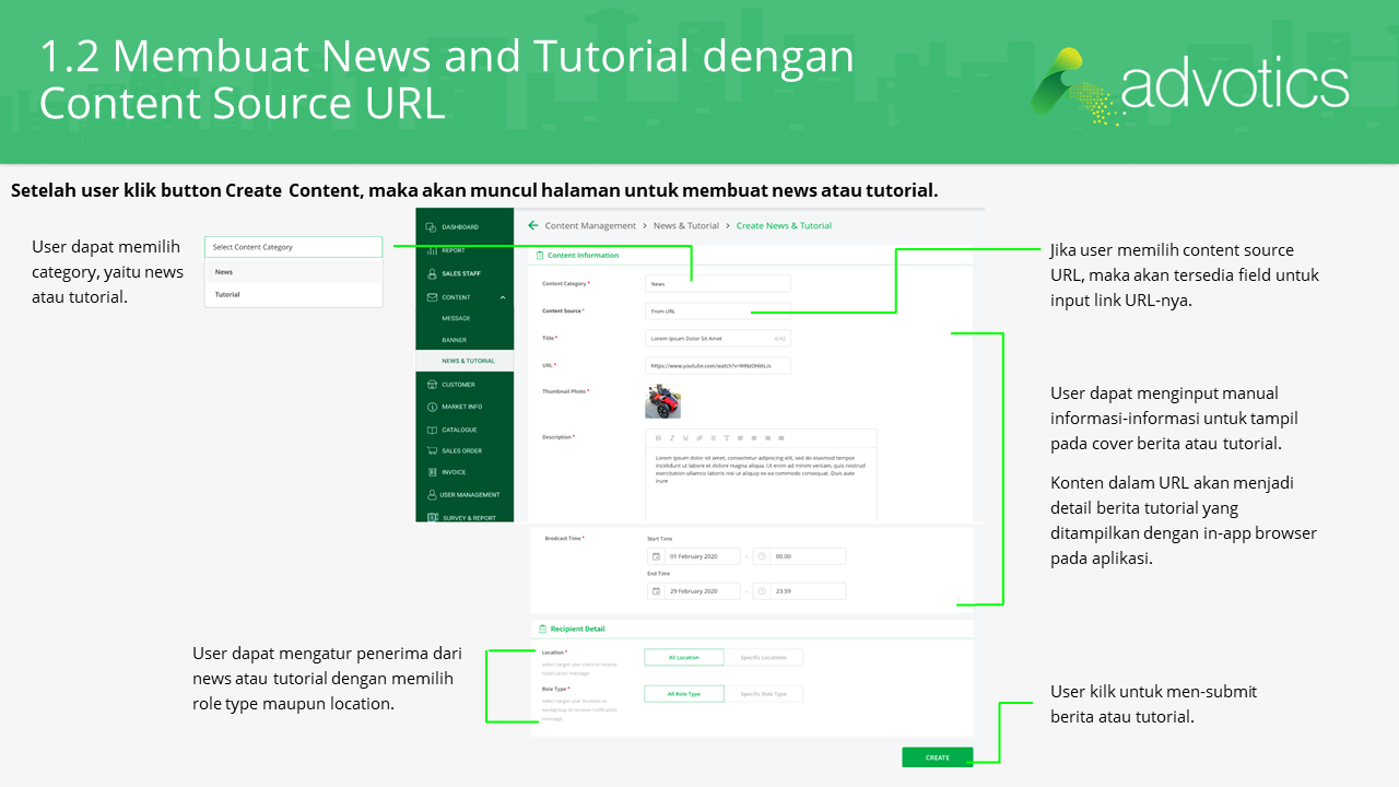 RN membuat news tutorial