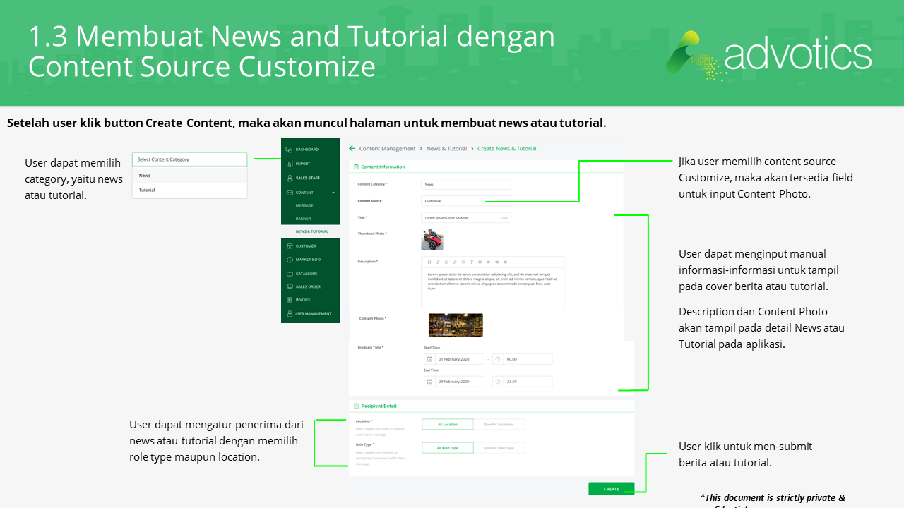 RN membuat news dan tutorial
