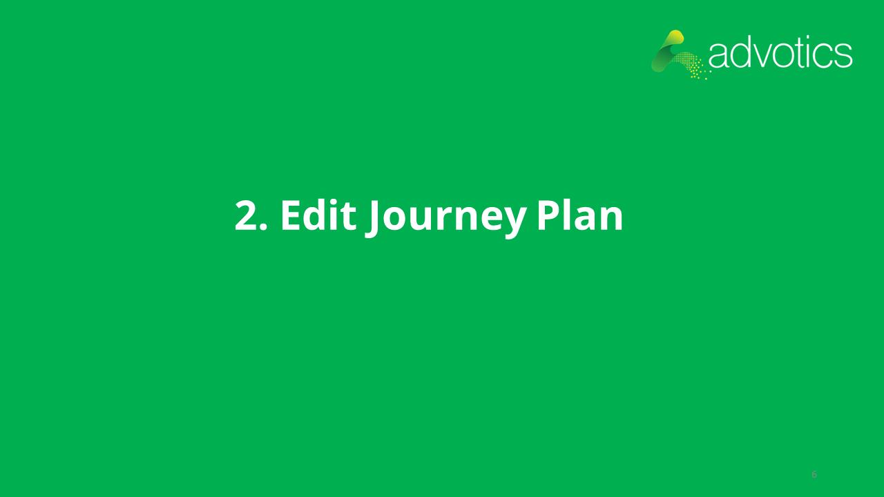 RN edit journey plan
