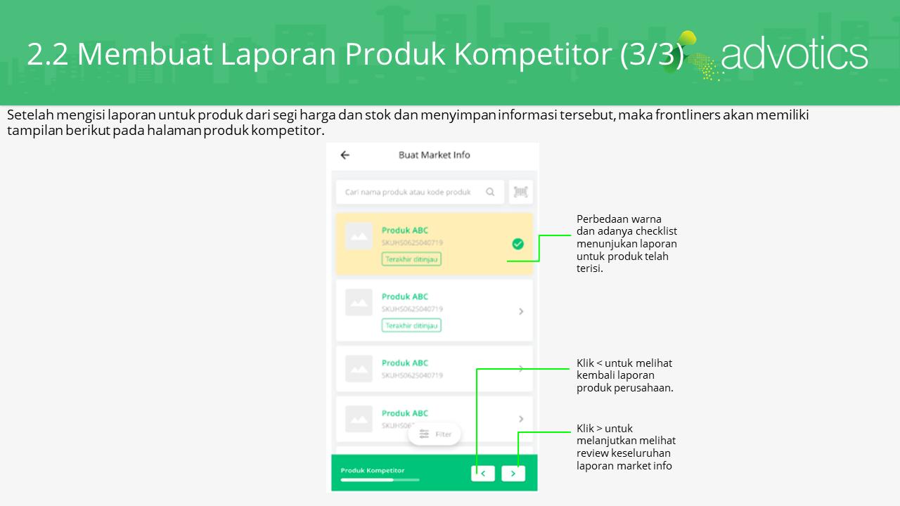 RN membuat laporan produk kompetitor 3