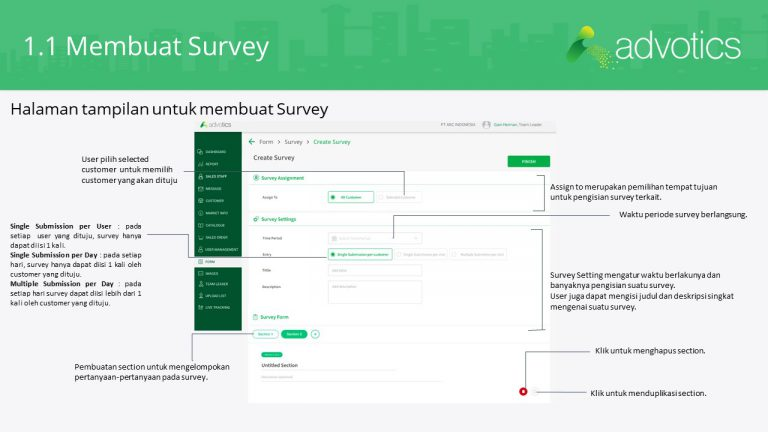 RN membuat survey