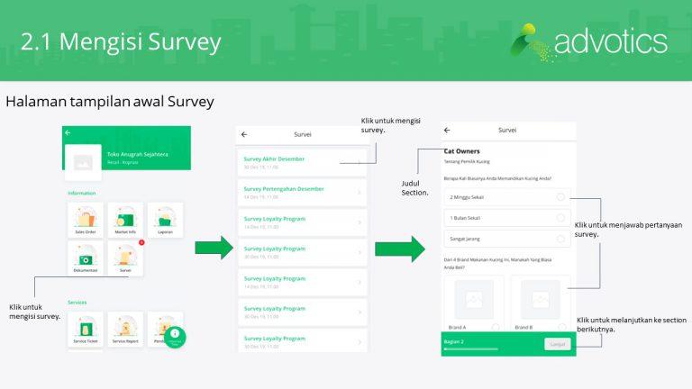 RN mengisi survey