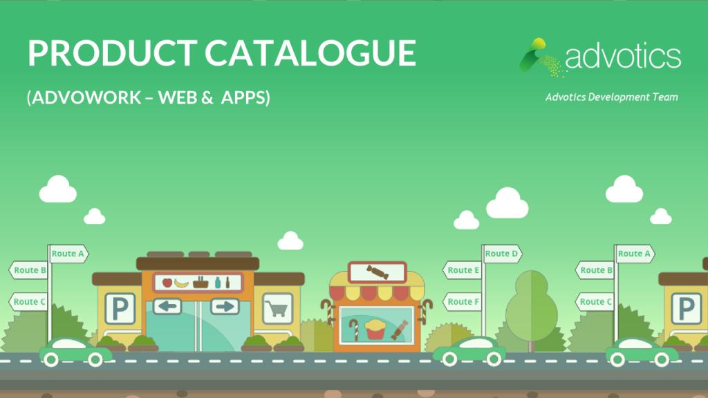 Advotics Product Catalogue
