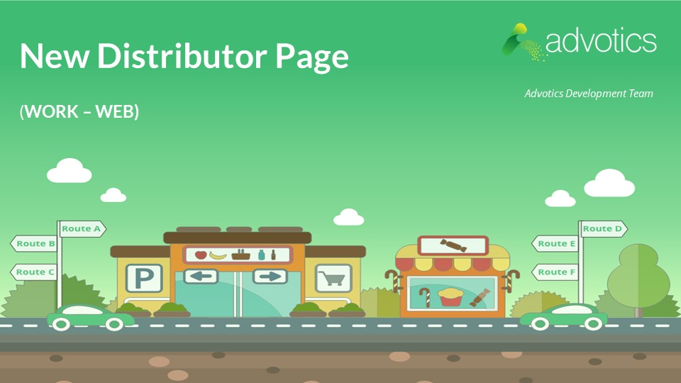 release note new distributor page