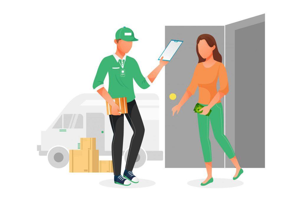 3 tahap pengiriman barang